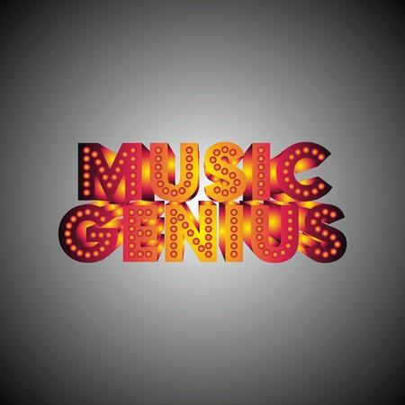music genius  Illustration