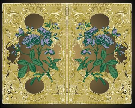 flower frame  Stock Vector - 6087120