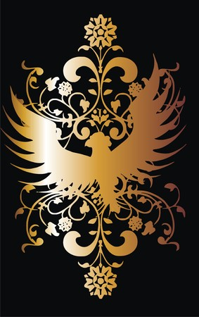 gold eagle  Stock Vector - 6118368