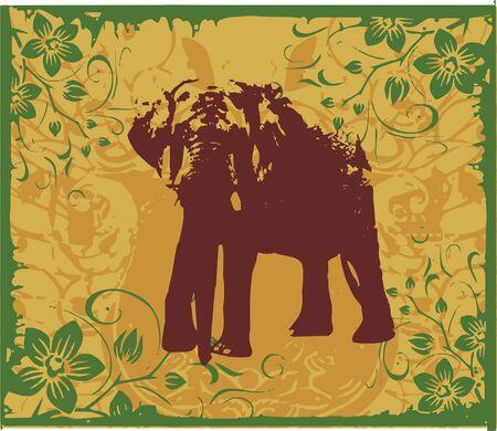 power elephant   Illustration