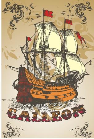 conquest:  galleon line