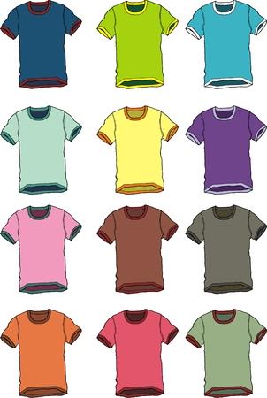 mix tshirt  Vector