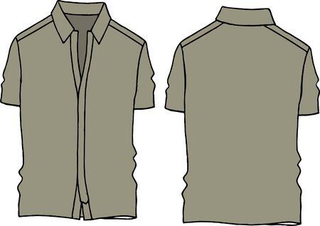 khaki line  Illustration