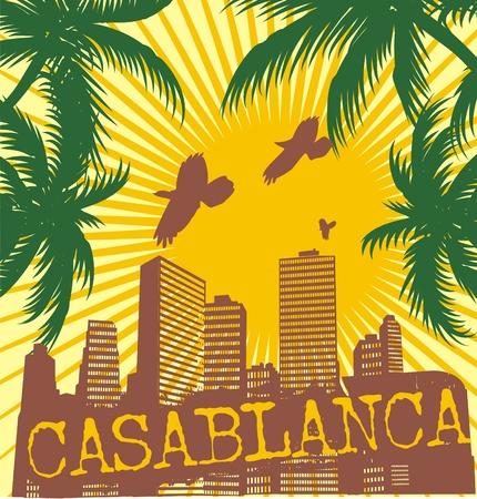 casablanca palm beach  Illustration