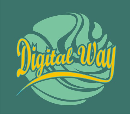 digital way Vector