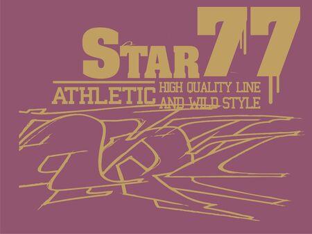star 77 Illustration