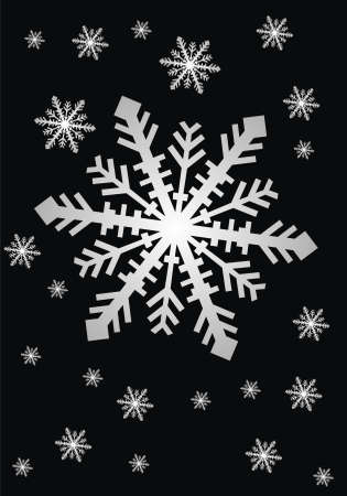 snow Stock Vector - 9875174