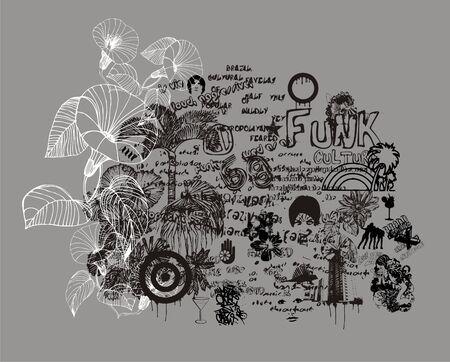 mix art Illustration