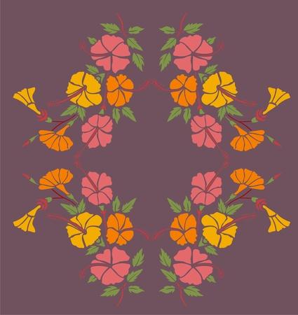 bordures fleurs: plates-bandes