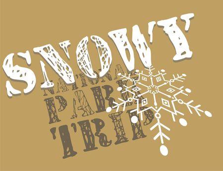 snowtime Stock Vector - 10655674