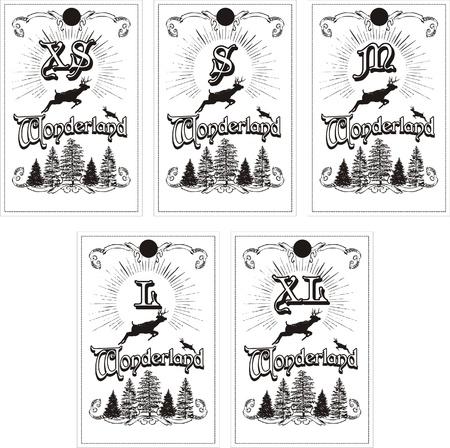 snowbank: wonderlands label