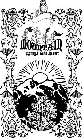 snowbank: mountain