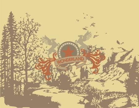 wonderland Illustration