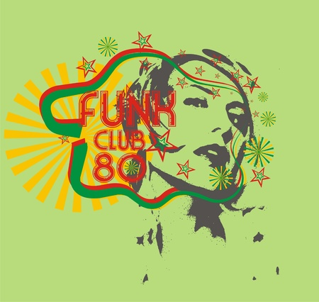 funk club Illustration