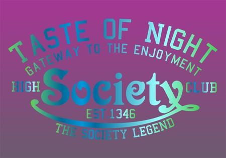 community recognition: graphic tees design Illustration