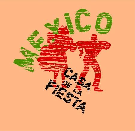mexico dance Stock Vector - 9923549