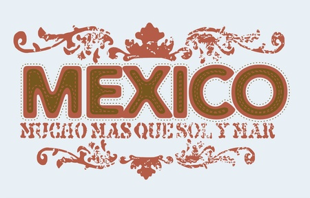 mexico Stock Vector - 9923550