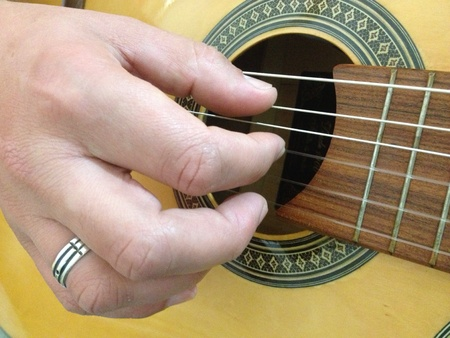 fingering: Playing and Fingering Guitar