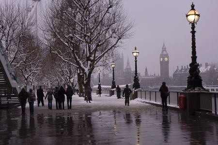 common people: winter in London
