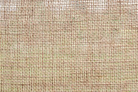 Photo texture of burlap light brown color made from natural linen material Reklamní fotografie