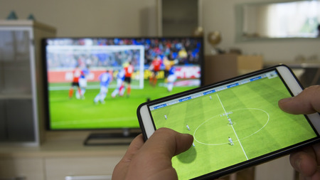 moble game on tv