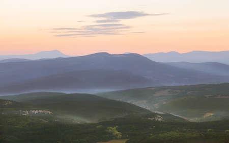 faintly visible: Sunrise Stock Photo