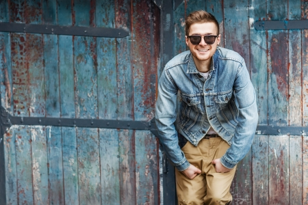 good guys: Hipster style guy