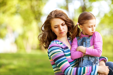 resent: mother and daughter fun, resent each other