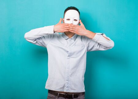 guy in the mask