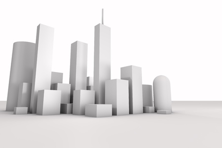 3D City, Building photo