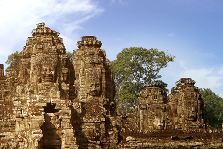 The Angkor Temples, Siem Riep, Cambodia  photo