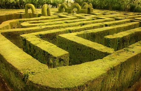 Horta Labyrinth Barcelona Catalonia Spain
