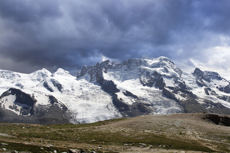 Switzerland  Mountain Landscape Panorama   photo