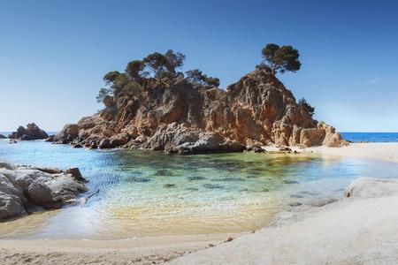 costa brava: M�diterran�e, la plage Costa Brava, Catalogne, Espagne