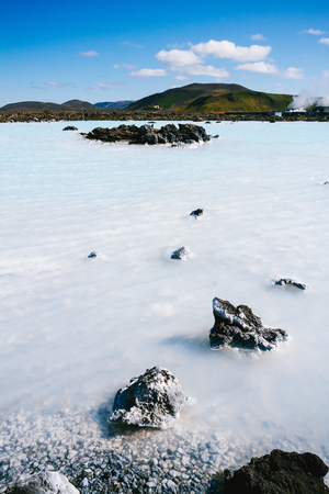 The Blue Lagoon geothermal bath resort in Iceland photo