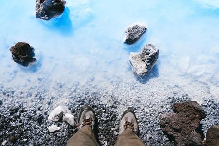 blue lagoon: The Blue Lagoon geothermal bath resort in Iceland