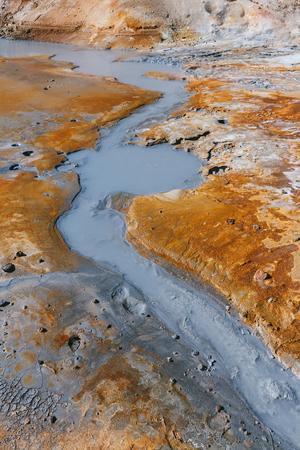 fumarole: Fumarole field, Iceland