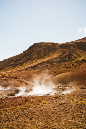 fumarole: Campo Fumarola, Islandia