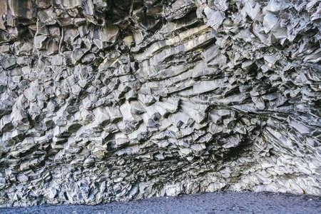 basalt: Basalt rock on the coast, Iceland