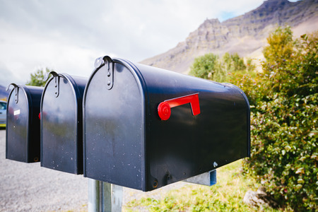 mailbox: Typical mailboxes Iceland