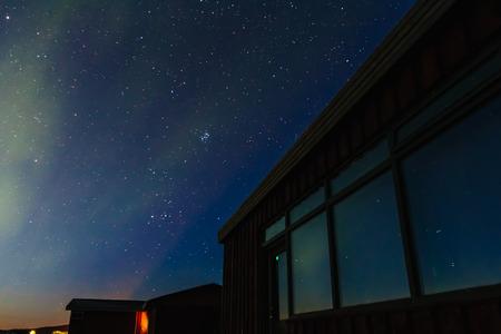 magnetosphere: Northern Lights in Islanda. Aurora