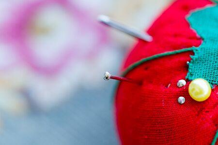os: Macro os sewing needles