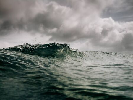 sea water: Background of sea water Stock Photo