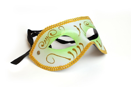 festive mask on white background Stock Photo - 17259409
