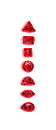 quilling: Quilling basic elements