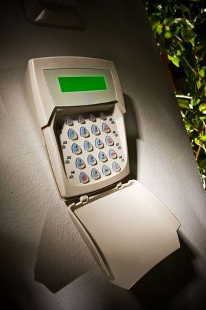 teclado num�rico: De cerca la imagen de un teclado de Seguridad