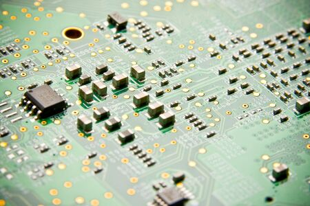 superconductor: Details of electronic circuit board