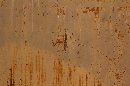 corten: Old metal iron rust background and texture. Stock Photo