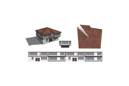 3d Printable Paper Craft Building Stock Photo Picture And Royalty