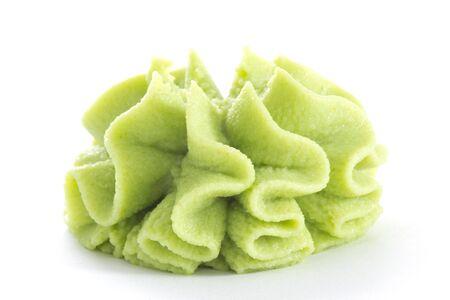wasabi: Wasabi isolated on white